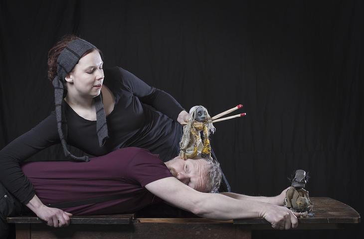 Bilde fra forestillingen Grå gubber leker med fyrstikker