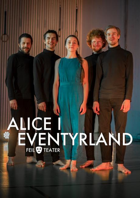 Plakat for forestillingen Alice i Eventyrland
